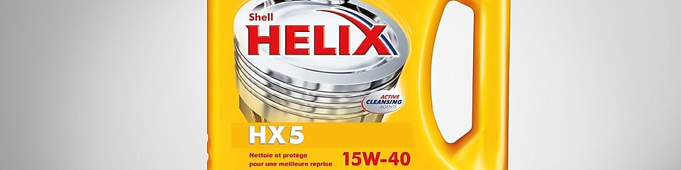 Gamme d'huiles moteur Shell Helix semi-synthétiques